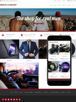 Visual Theme RedManShop