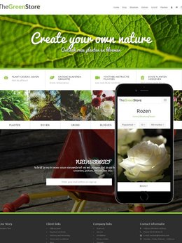 Visual Theme GreenStore