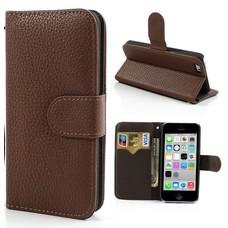 Flipcover Bruin iPhone 4(s) & 5(s)