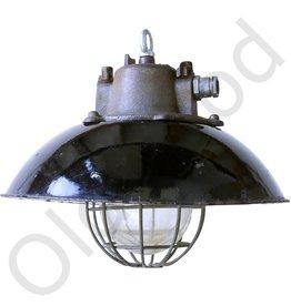 Industriele lamp Bulov1 - zwart