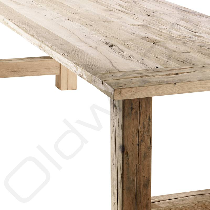 Oud eiken tafel - Ameland