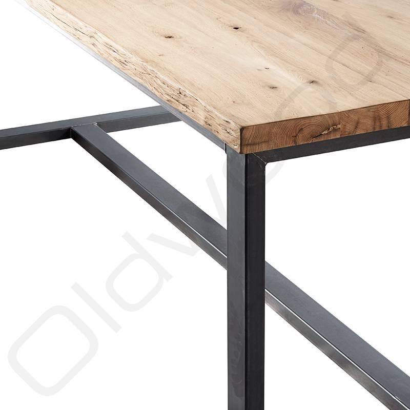 Oud eiken tafel - Napels