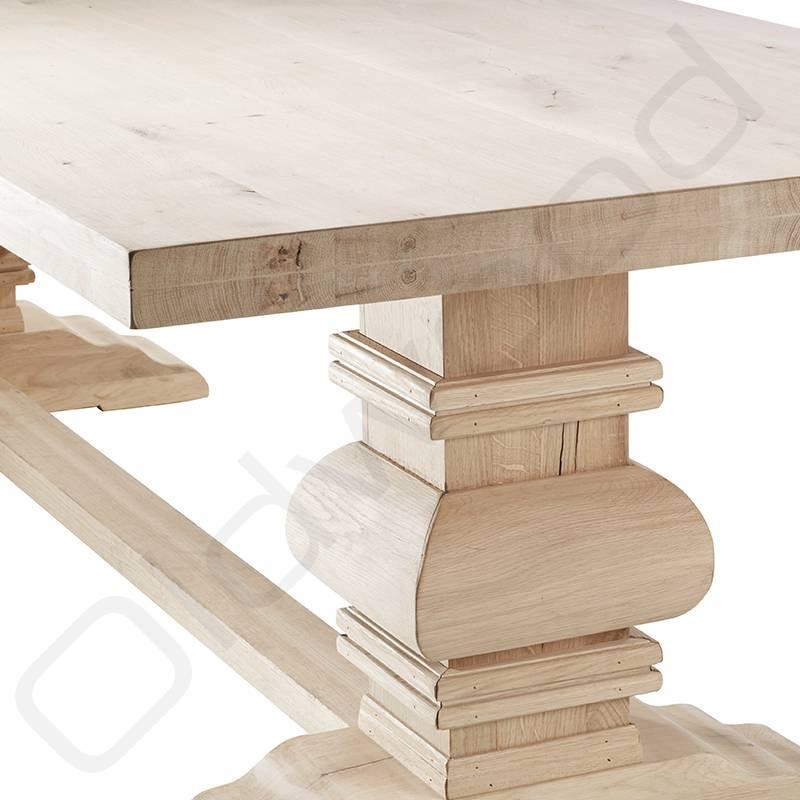 Robuuste houten tafels - Kloostertafel Parijs - Oldwood - De ...