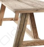 Oud eiken tafel - Texel