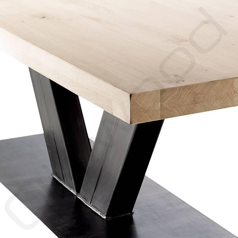 Eiken houten tafel - Rome