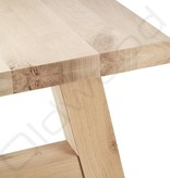 Eiken houten tafel - Milaan