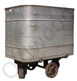 Reeds Verkocht! Industriele oude zinken waskar