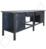 Industrieel meubel Industriële werkbank / keukenblok