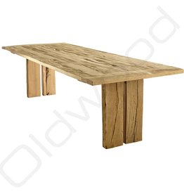 Tafel Oud eiken tafel - Vlieland