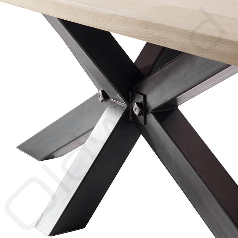 Industriele eiken tafels met banken beste inspiratie voor huis ontwerp - Ontwerp banken ...