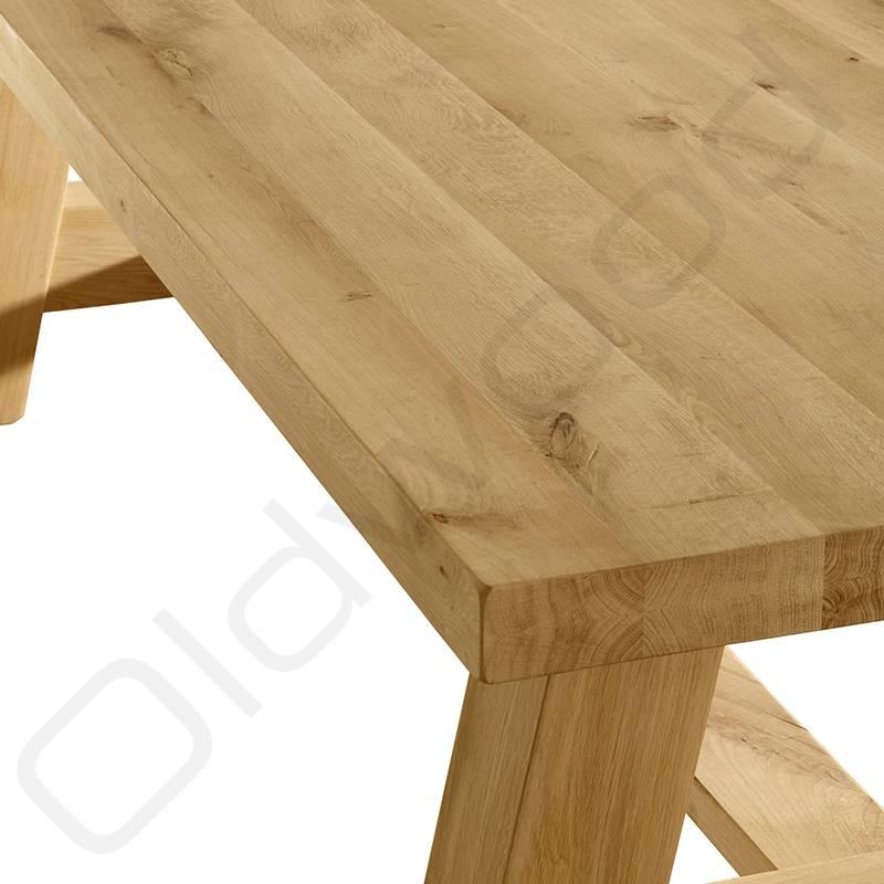 Tafel Eiken tafel - Milaan