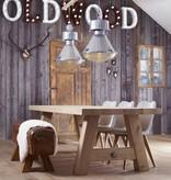 Industriële lamp - Tanek gepolijst