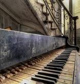 Scratch Photography - Foto's op geborsteld aluminium - diverse afmetingen Piano 2016 - foto op aluminium