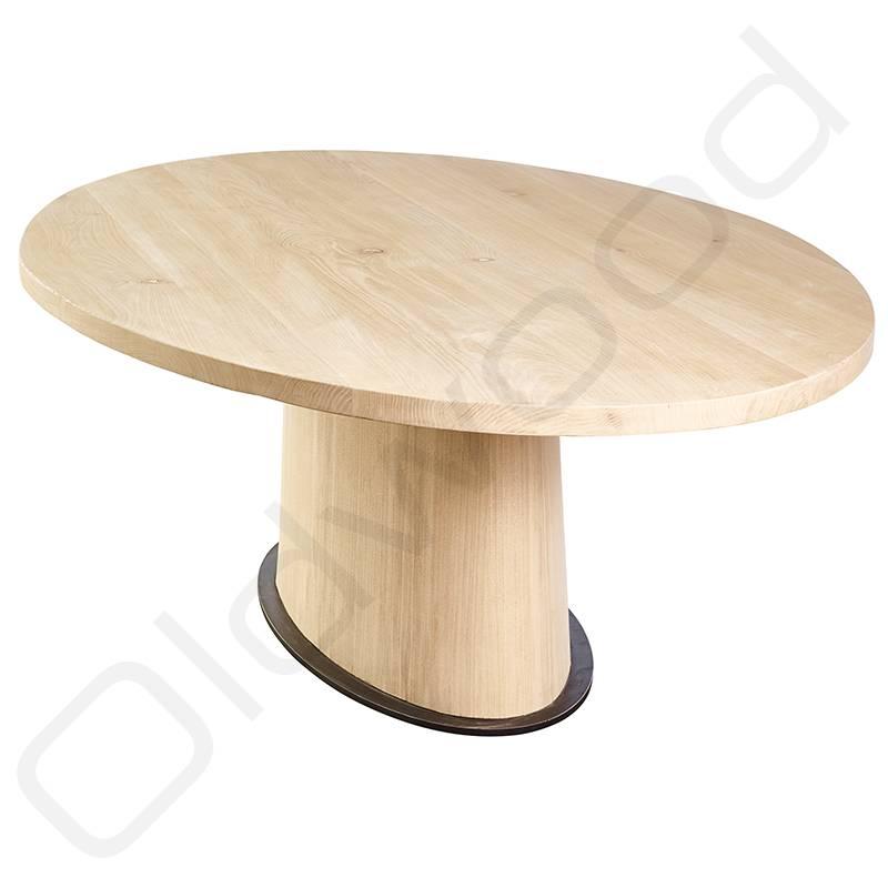 Tafel Ovale houten tafel 'Cannes'