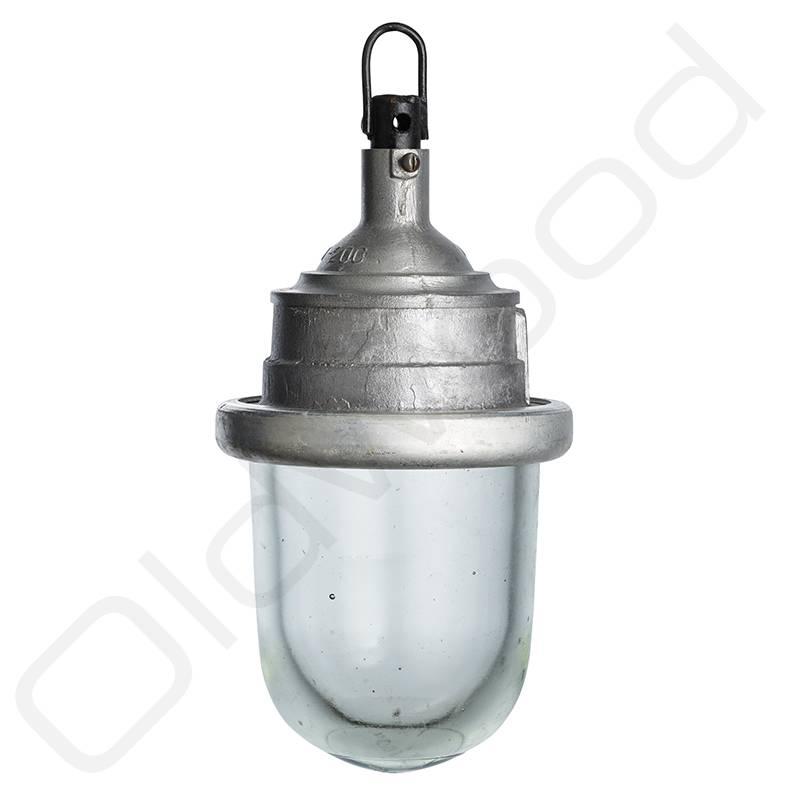 VERKOCHT! Glazen hanglamp - Bully