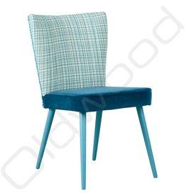 Showroom SALE! Houten stoel - Julie Loom combi Tweed Royal