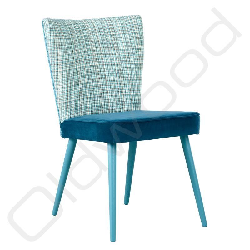 Houten stoel - Julie Loom combi Tweed Royal