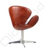 Lederen stoel - Tenson Rood