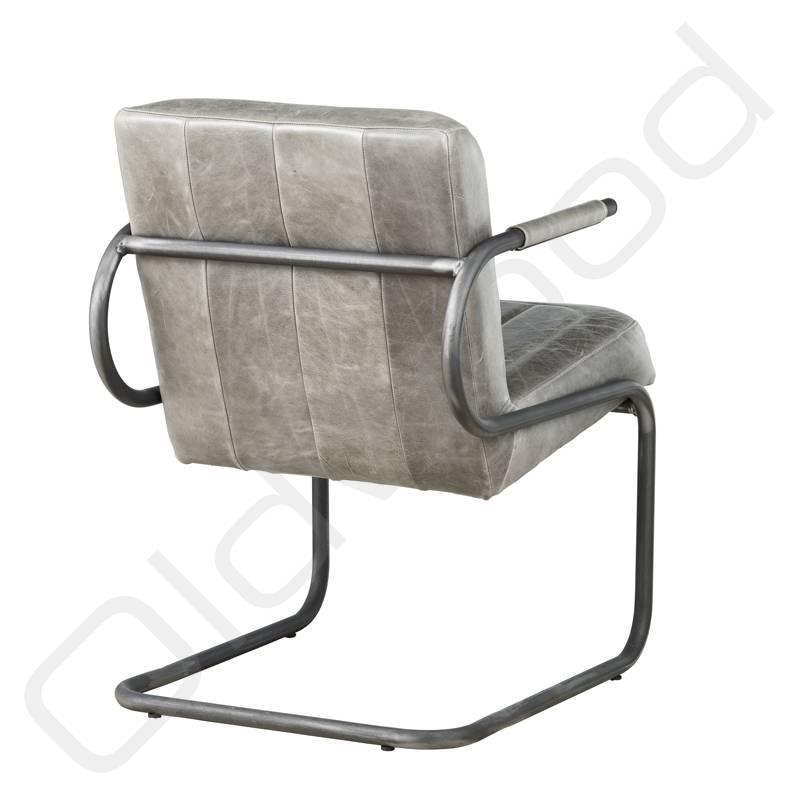 Lederen armstoel - Ben Cerato Grey