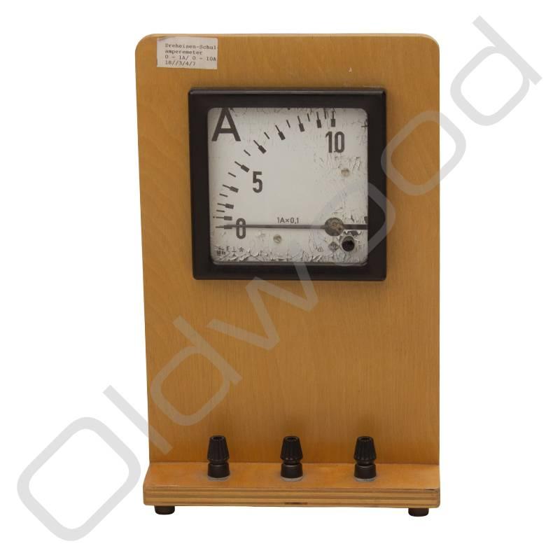 Vintage ampèremeter
