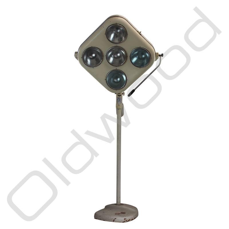 Grote vintage operatielamp