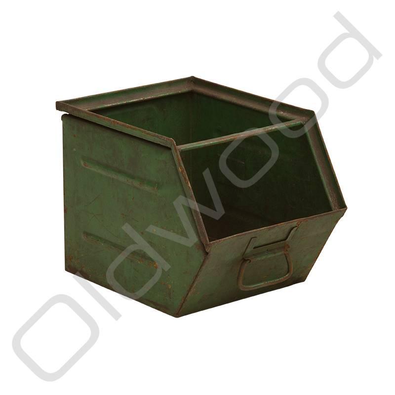 Groene magazijnbak