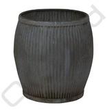 Vintage metalen vat