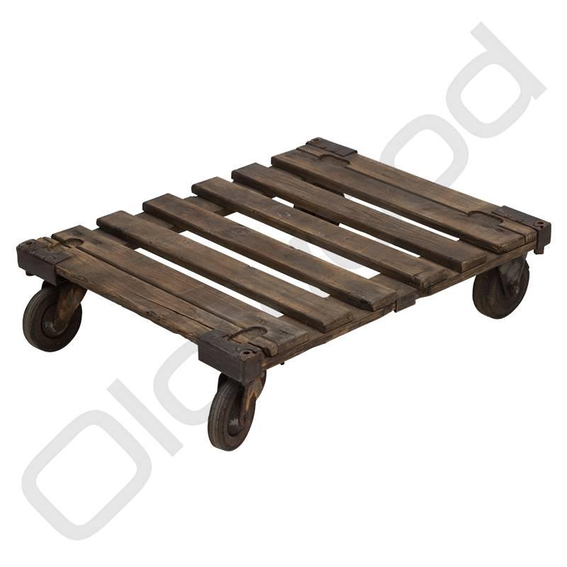 Industrieel meubel (Verkocht) Industriële trolley