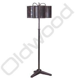 Industriële driekap lamp