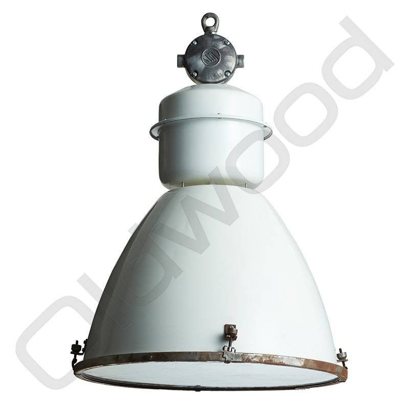 Industriële lamp - Viktor wit
