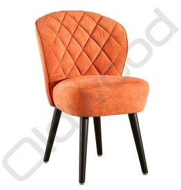 Eetkamerstoel - Daphne oranje