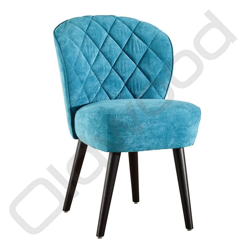 Eetkamerstoel - Daphne blauw