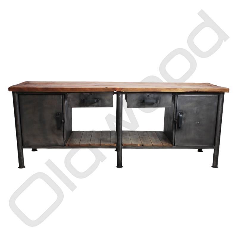 Industrieel meubel Industriële werkbank / dressoir