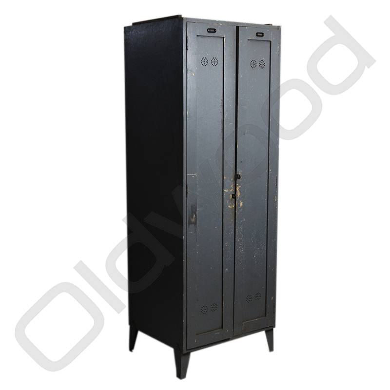 Vintage houten locker