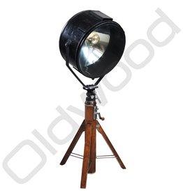 Vintage theaterlamp / zoeklicht