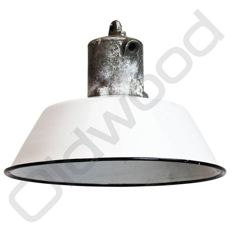Industriële lampen - Ufo wit
