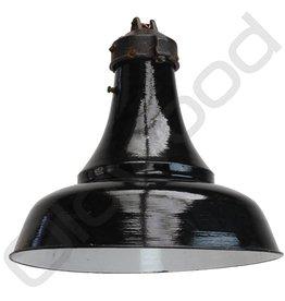 (Verkocht) Industriële lampen - bauhaus 09 zwart