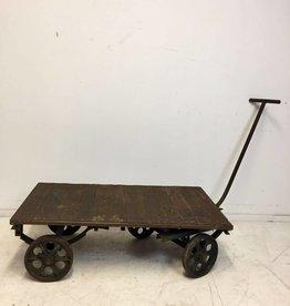 Industrieel meubel (Verkocht) stoere trolley