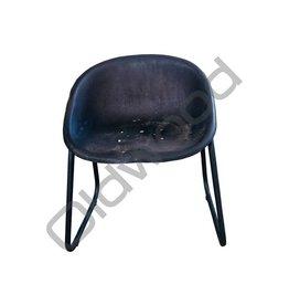 Industrieel meubel Trekkerzadelkruk