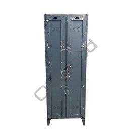 Industrieel meubel Houten locker
