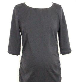 Jersey Shirt mit Spitze