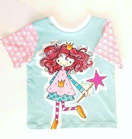"T-shirt ""Prinzessin"""