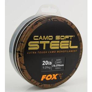 Fox Soft Steel Dark Camo Carp Line 1000m