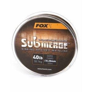 Fox Submerge Sinking Braided Mainline Dark Camo
