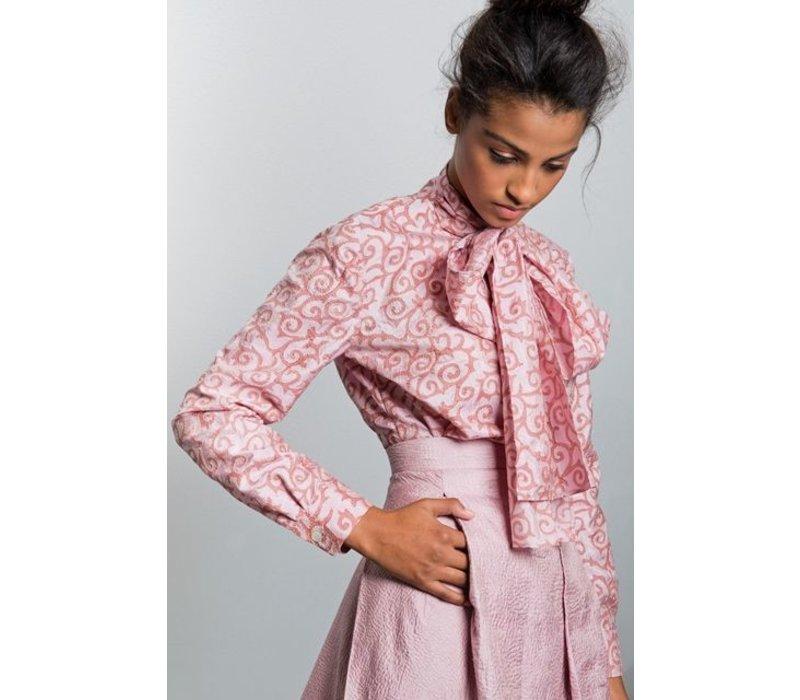 Nakshi Kantha rok-pink