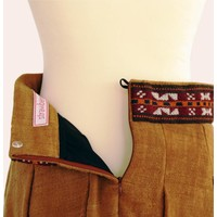 skirt Bogolan (brown uni)