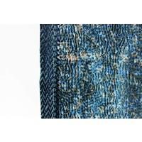 Twee zijdige shawl van zijde en katoen