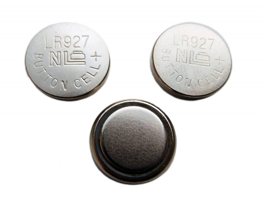 Extra set van 3 batterijen voor de mini microscoop AG7/LR927 ...
