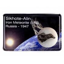 Sikhote-Alin meteoriet in doosje