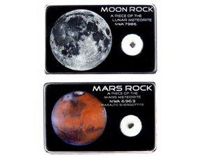 Maan en Mars meteorieten